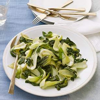 Baby Bok Choy with Sherry Vinaigrette