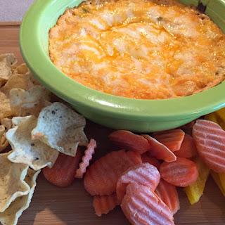 Cheesy Mexican Salsa Dip.