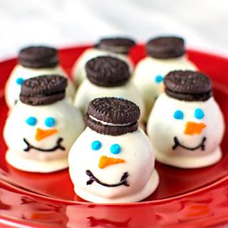 Melting Snowmen Cookie Balls.