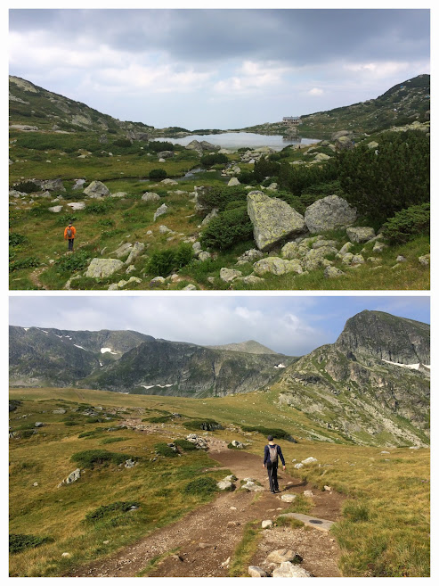 Gorgeous scenery all around in Rila National Park