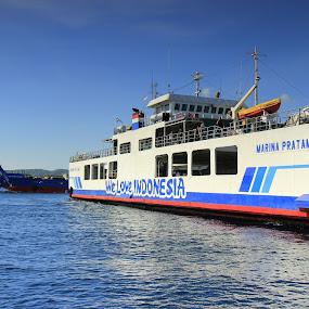 Love Indonesia by Sasongko Hadi - Transportation Boats