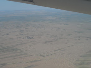 Photo: Flight back from Jijiga to Addis -- still near Somali border