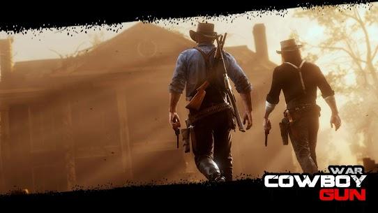 Cowboy Gun War MOD (Unlimited Money) 1