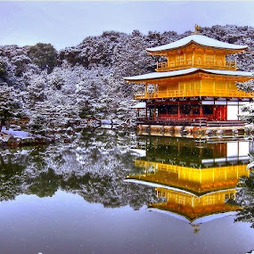 Golden Temple by Sim Kim Seong - Landscapes Travel