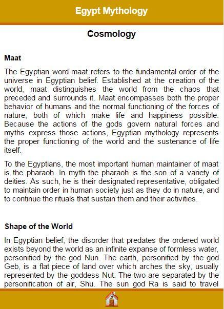 Egypt Mythology- screenshot