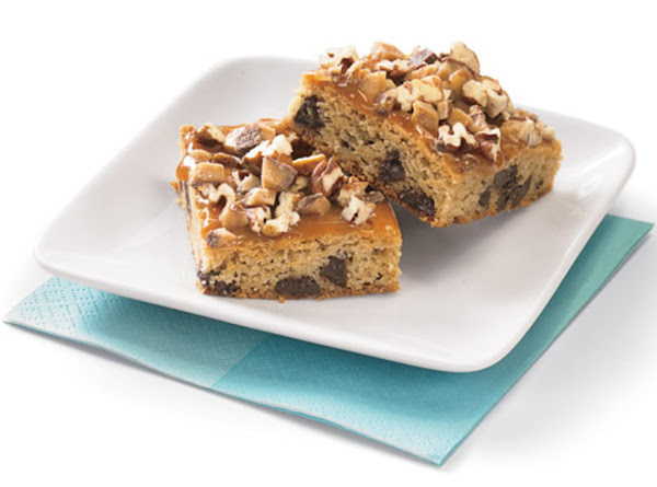 Chocolate Caramel Toffee Bars Recipe