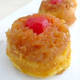Pineapple Upside Down Cupcakes.