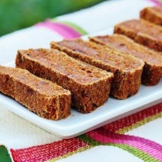 Raw Carrot Oat Bread.