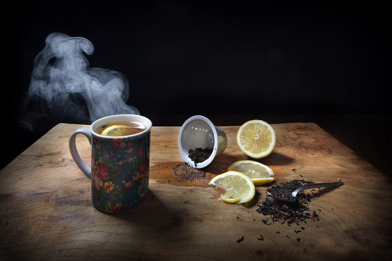 Tea and lemon. di Montanaro