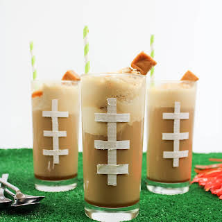 Caramel Whiskey Root Beer Floats.