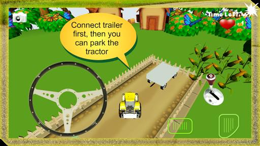 トラクターの駐車HD