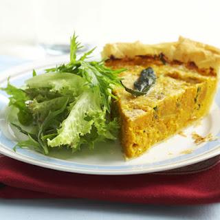 Savory Pumpkin and Sage Pie.