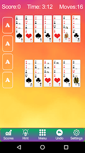 Forty Thieves Solitaire - Card king - náhled