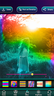 Photo Color Effects Filter Editor - náhled