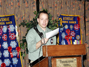 Photo: Phil Lemieux spoke about Membership