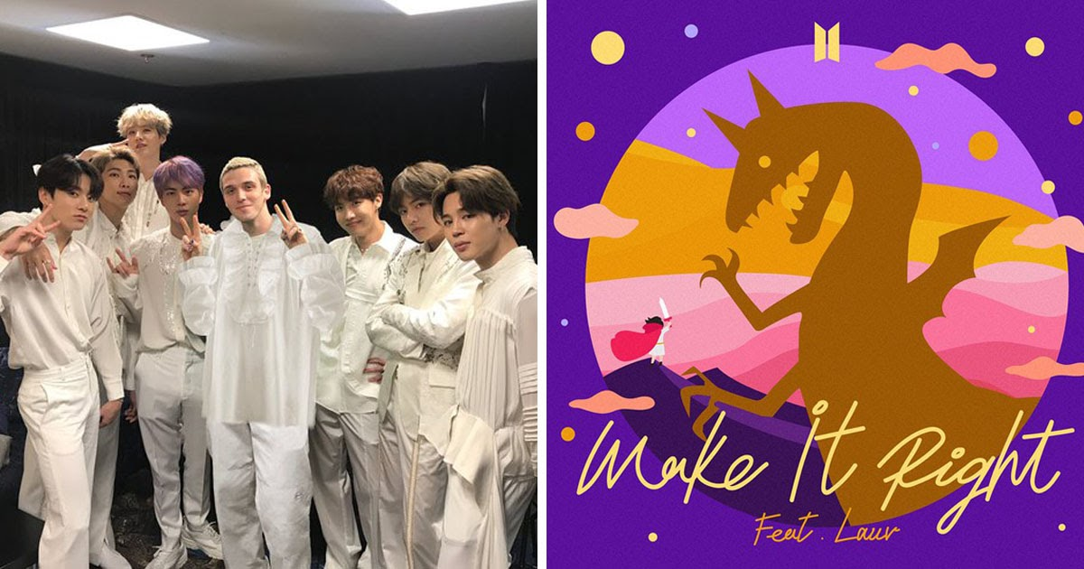 Bts And Lauv Drop Their Make It Right Remix Collaboration
