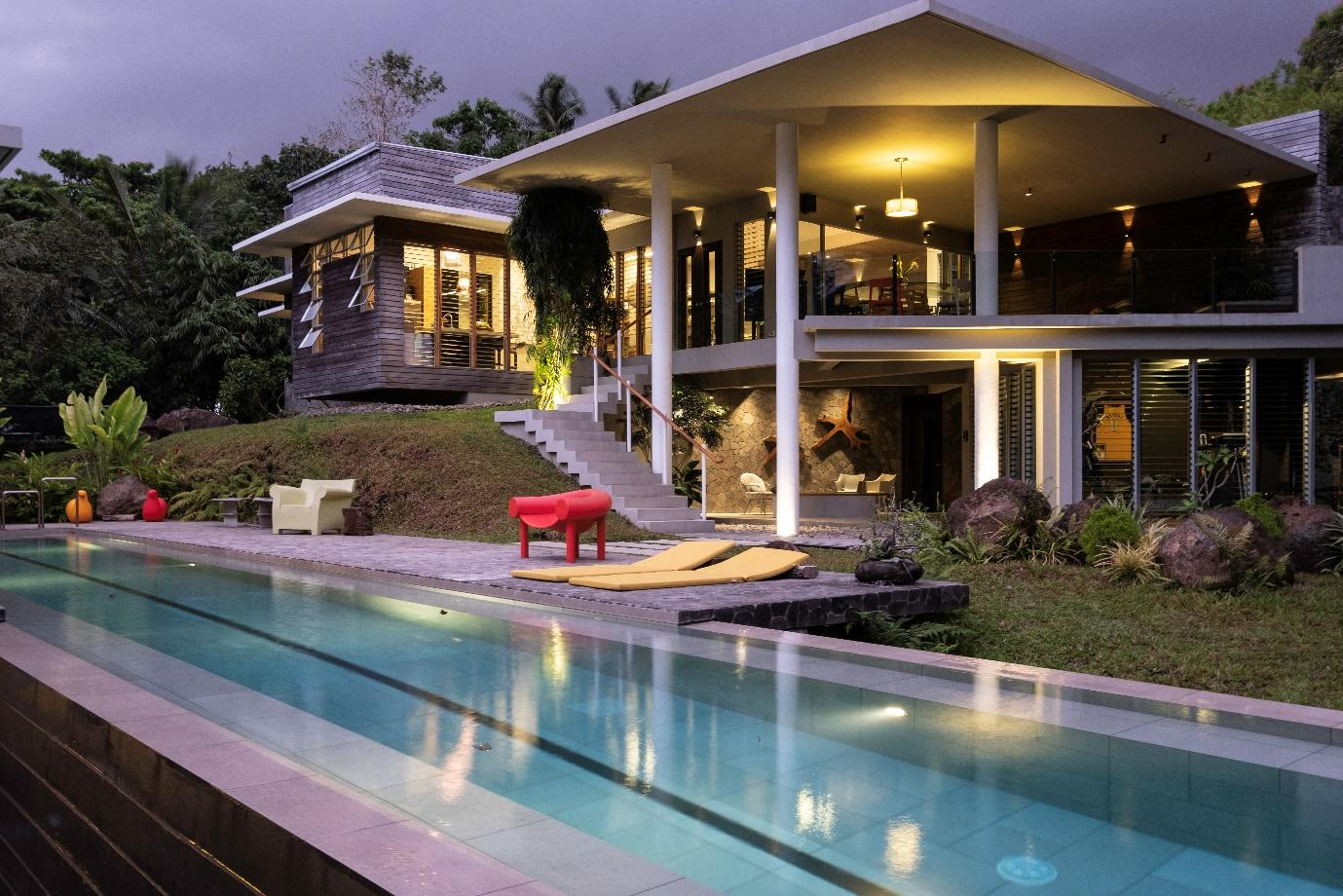 A picture containing building, outdoor, house, resort  Description automatically generated