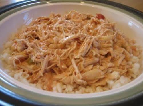 "Crock Pot Chicken Salsa ""This turned out great. I just realized that I..."