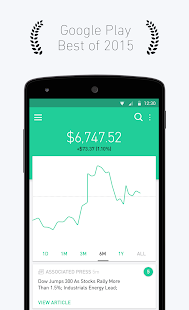 Robinhood - Free Stock Trading Screenshot 1