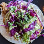 Tacos De Pollo Escabeche (2 Tacos)