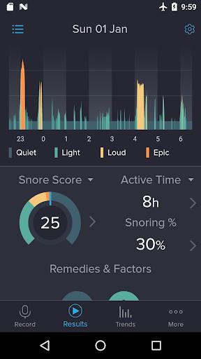 SnoreLab : Record Your Snoring  screenshots 1