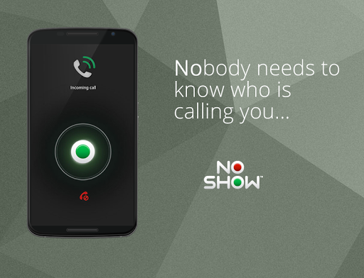 NO SHOW Privacy Caller id