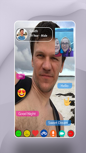 Live Talk - Strangers Video Call 1.1 screenshots 2