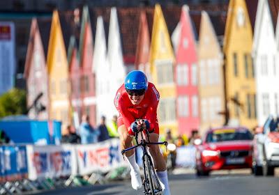 Ronde van Valencia zit er op voor Noors toptalent: vrees voor sleutelbeenbreuk