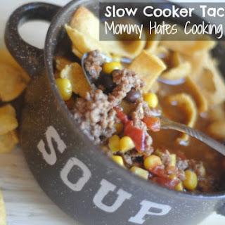 Slow Cooker Taco Soup Recipe