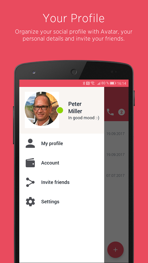 Upco – Fully secure communications & more- screenshot