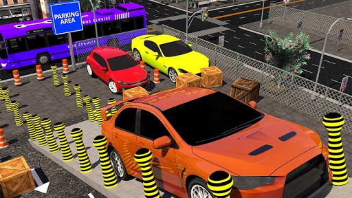 Modern Car parking simulator –Crazy car stunt 2019 screenshot 3