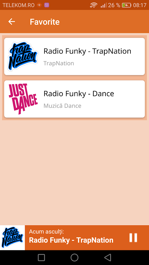 Radio Funky Romania- screenshot