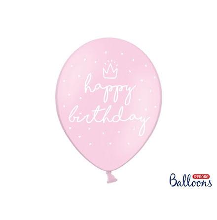 Ballonger Happy Birthday rosa