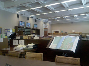 Photo: View inside the Local History & Genealogy Room @ Library of Congress