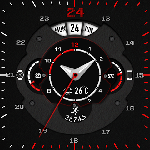 android Phroton Interactive Watch Face Screenshot 27