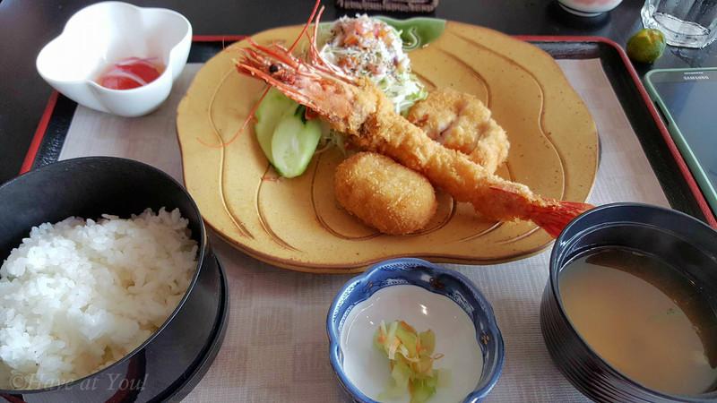 mixed furai teishoku