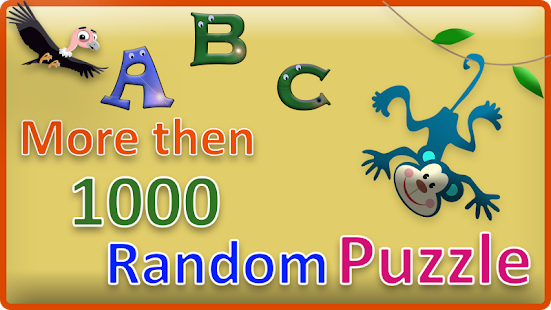 Alphabets Puzzles for kids & Toddlers Screenshot