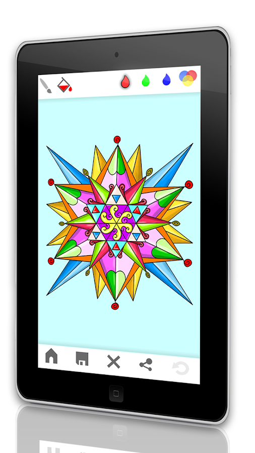 Mandala coloring book for adults android apps on google play Coloring book for adults android