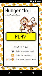 HungerMoji - Notification Game- screenshot thumbnail