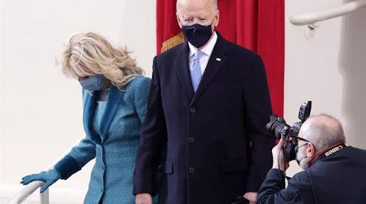 Joe Biden toma posesión como el presidente número 46 de Estados Unidos.