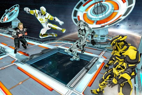 Superhero Avenger Strike Force 4