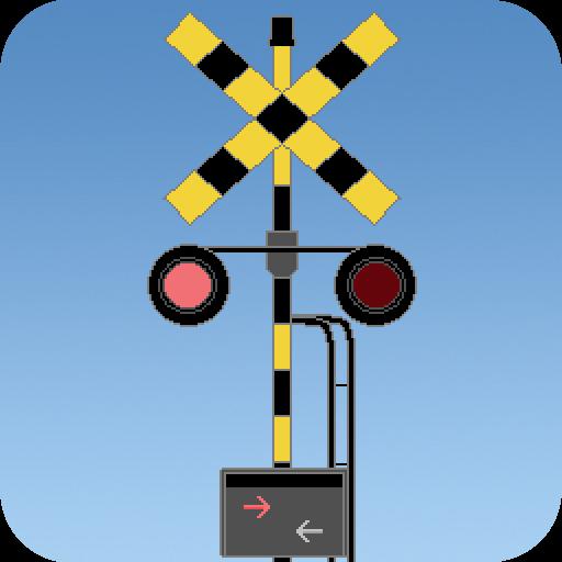 娱乐の踏切と電車! LOGO-HotApp4Game