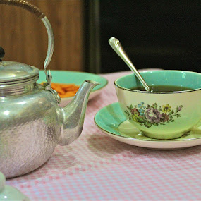 tea party by Crystal Gibson - Artistic Objects Cups, Plates & Utensils ( pwccups )