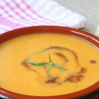 Carrot Soup with Ginger and Lemon recipe | Epicurious.com.