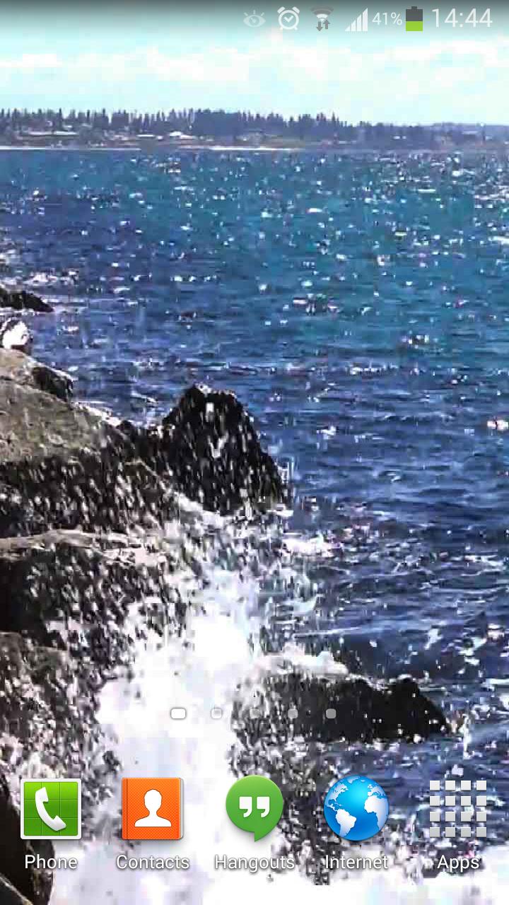 Скриншот Ocean Waves Live Wallpaper 62