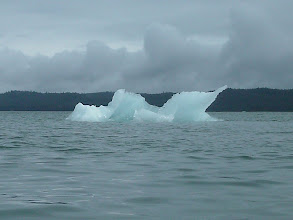 Photo: A small iceberg in Frederick Sound.