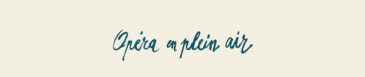 Opera en Plein Air Logo