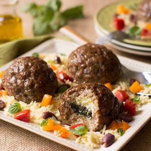 Stuffed Pork Meatballs