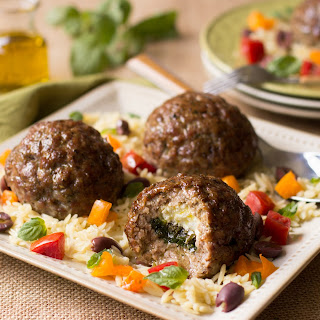 Stuffed Pork Meatballs.