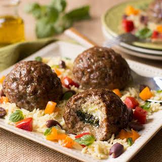 Stuffed Pork Meatballs.